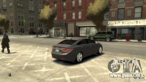 Hyundai Sonata für GTA 4 hinten links Ansicht