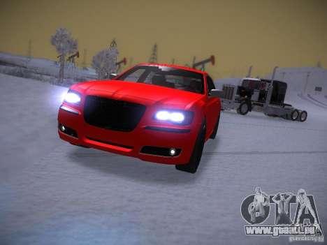 Chrysler 300C SRT8 2011 pour GTA San Andreas vue arrière