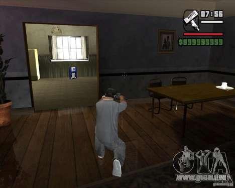 Micro UZI pour GTA San Andreas troisième écran