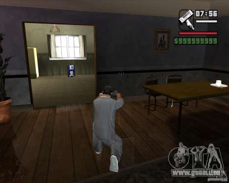 Micro UZI für GTA San Andreas dritten Screenshot