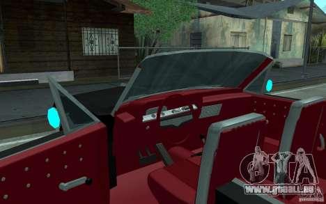 Chevrolet Impala SS 1964 pour GTA San Andreas vue de dessous