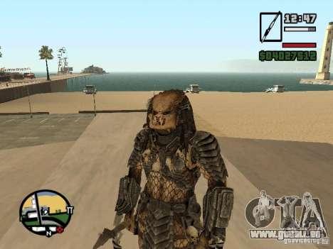 Predator Predator pour GTA San Andreas troisième écran