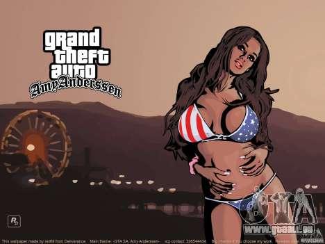 Écran de belle botte pour GTA San Andreas