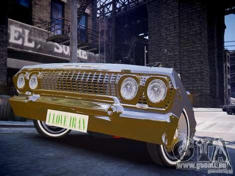 Chevrolet Impala 63 für GTA 4 rechte Ansicht