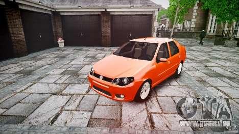 Fiat Albea Sole für GTA 4