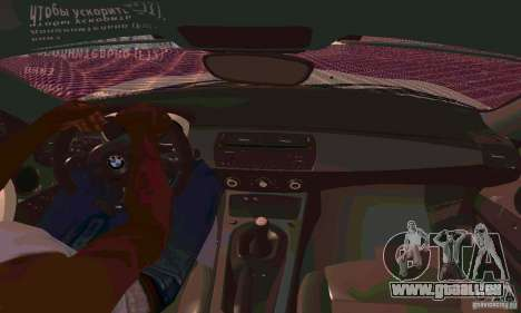 BMW Z4 E85 M pour GTA San Andreas moteur