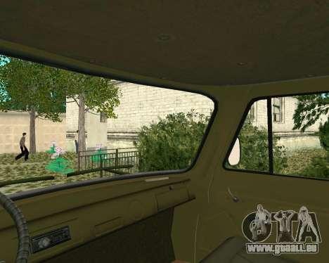 UAZ 3303 pour GTA San Andreas vue arrière