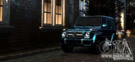 Mercedes-Benz G65 AMG [W463] 2012 pour GTA 4 est une gauche