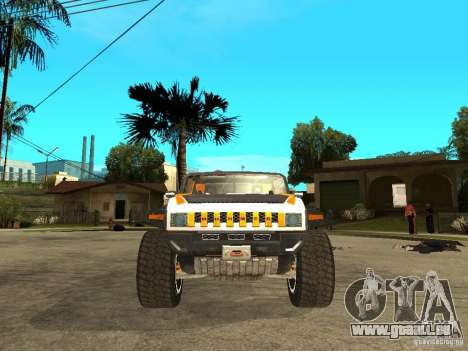 Hummer HX Concept from DiRT 2 pour GTA San Andreas vue de droite