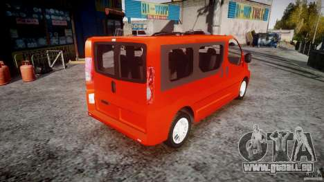 Renault Trafic für GTA 4 Innenansicht
