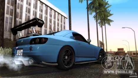 Honda S2000 JDM pour GTA San Andreas vue de côté