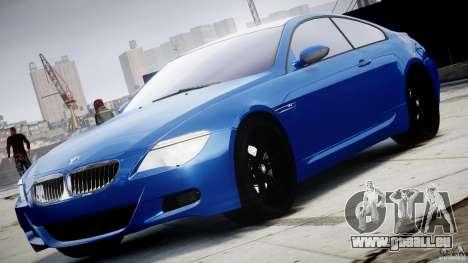 BMW M6 Orange-Black Bullet für GTA 4
