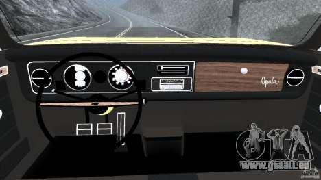 Chevrolet Opala Gran Luxo pour GTA 4 Vue arrière