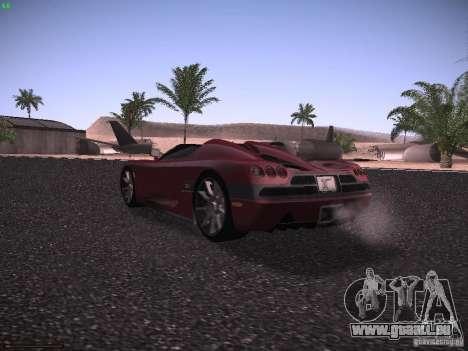 Koenigsegg CCX 2006 für GTA San Andreas rechten Ansicht