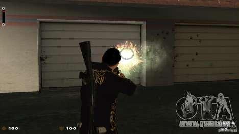 Cs 1.6 HUD pour GTA San Andreas deuxième écran