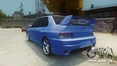 Mitsubishi Lancer Evo 2004 pour GTA 4 Vue arrière de la gauche