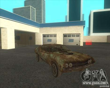 Ford Torino extreme rust 1970 pour GTA San Andreas