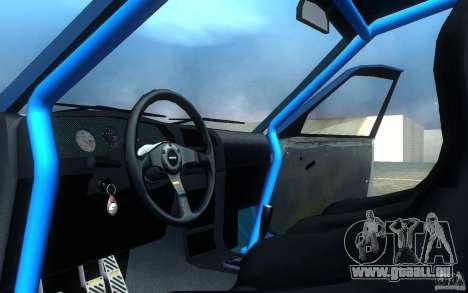 Nissan Pulsar GTI-R (RNN14) pour GTA San Andreas vue intérieure
