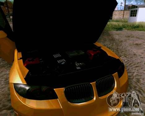 BMW 135 Tuning für GTA San Andreas Innenansicht