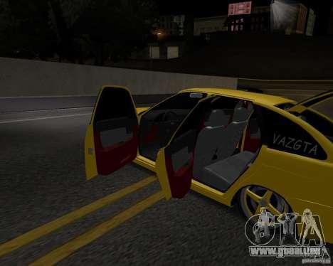 Lada Priora Fließheck für GTA San Andreas rechten Ansicht