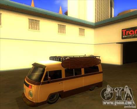 Volkswagen Kombi Classic Retro für GTA San Andreas