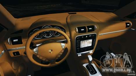 Porsche Cayenne Turbo 2003 für GTA 4 Rückansicht