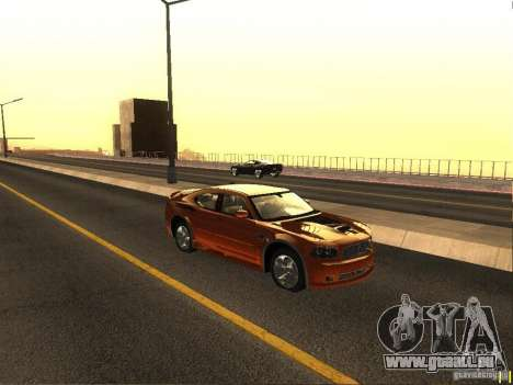 Dodge Charger From NFS CARBON für GTA San Andreas zurück linke Ansicht