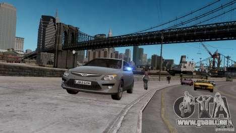 Hyundai i30 Unmarked für GTA 4
