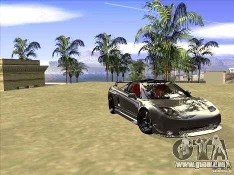 Acura NSX Tuned pour GTA San Andreas vue intérieure