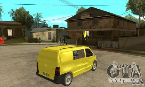 Mercedes-Benz Vito 112CDI für GTA San Andreas rechten Ansicht