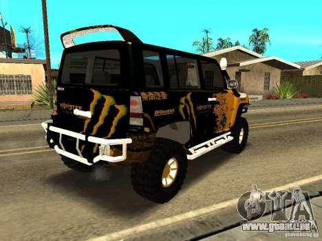 Scion xB OffRoad für GTA San Andreas rechten Ansicht