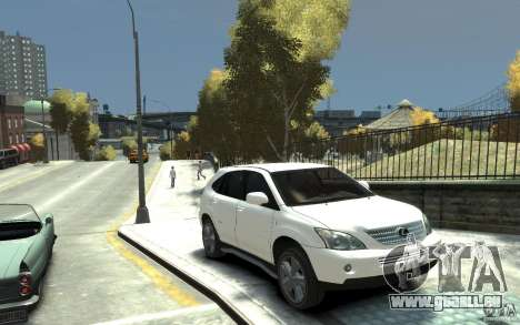 Lexus RX 400h für GTA 4 Rückansicht
