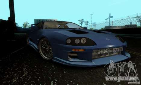 Toyota Supra TRD pour GTA San Andreas laissé vue