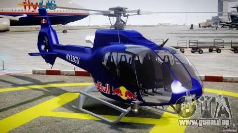 Eurocopter EC130 B4 Red Bull für GTA 4 Rückansicht