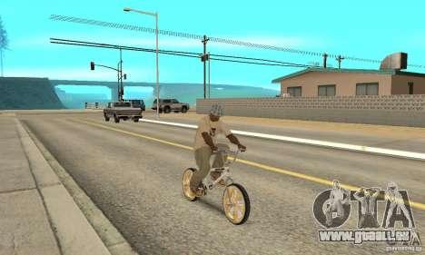 Spin Wheel BMX v2 pour GTA San Andreas vue de droite
