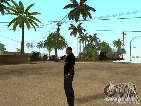 T-Shirt Nike für GTA San Andreas fünften Screenshot