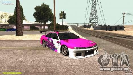 Nissan Silvia S14 kuoki RDS für GTA San Andreas