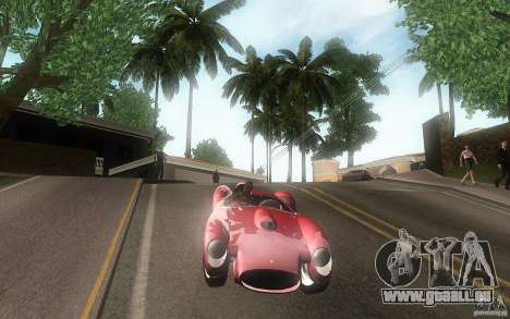 Ferrari 250 Testa Rossa für GTA San Andreas Innenansicht