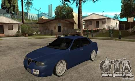 Alfa Romeo 156 Light Tune für GTA San Andreas