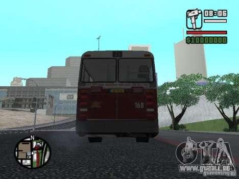 DAF CSA 1 City Bus pour GTA San Andreas vue de droite