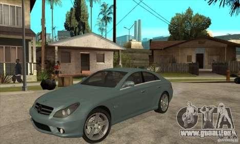 Mercedes-Benz CLS 63 AMG für GTA San Andreas