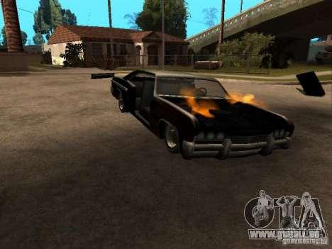 Wrecked car fix für GTA San Andreas