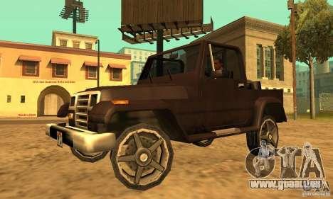 Mesa From Beta Version für GTA San Andreas