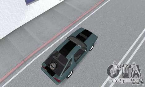 Dodge Daytona Turbo CZ 1986 für GTA San Andreas zurück linke Ansicht