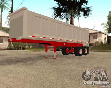 Artict3 Dump Trailer für GTA San Andreas