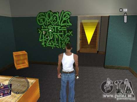 My Gang Tags für GTA San Andreas