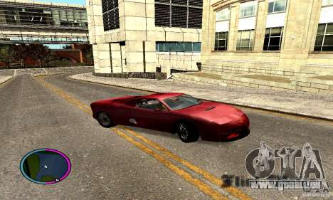 Axis Piranha Version II für GTA San Andreas rechten Ansicht