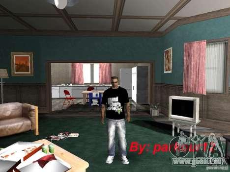 Die T-shirt-GTA-5 für GTA San Andreas
