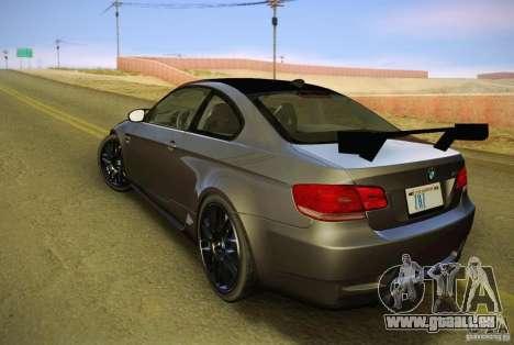 BMW M3 GT-S Final für GTA San Andreas linke Ansicht