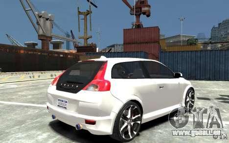 Volvo C30 T5 R-Design 2009 für GTA 4 rechte Ansicht